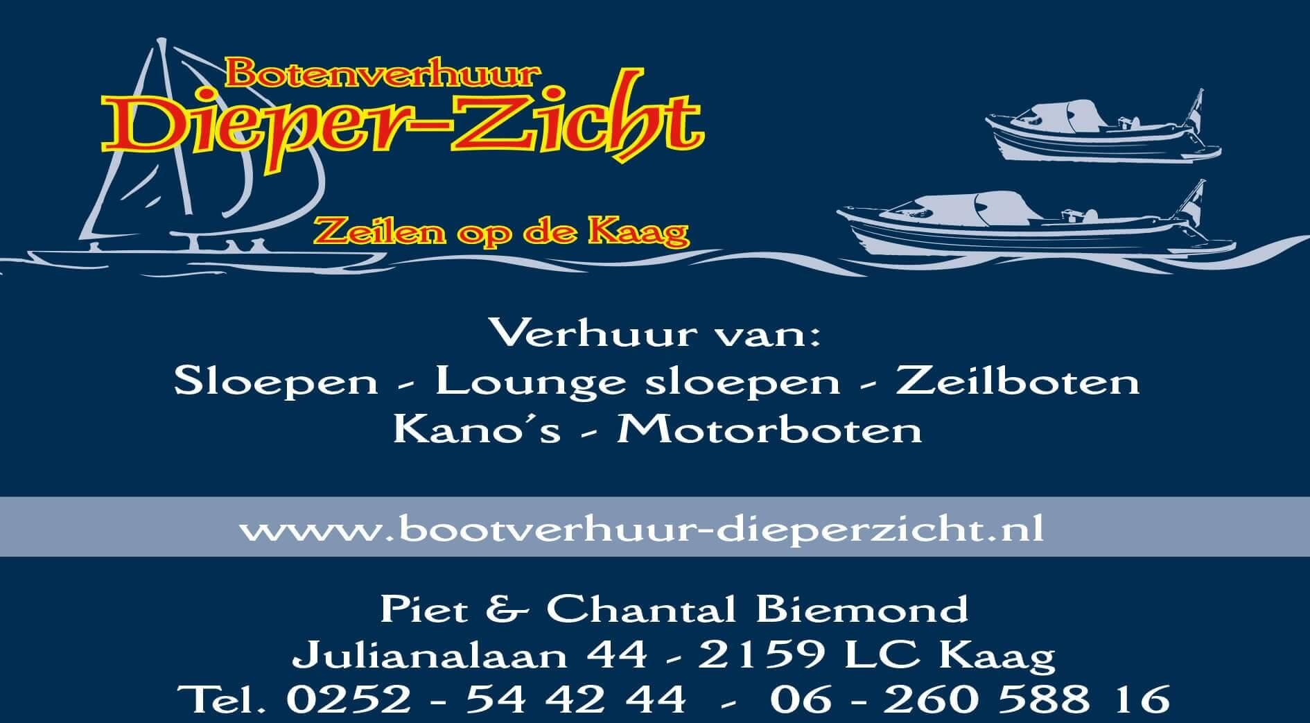 Mieten boot  Bootsverleih Dieper-Zicht