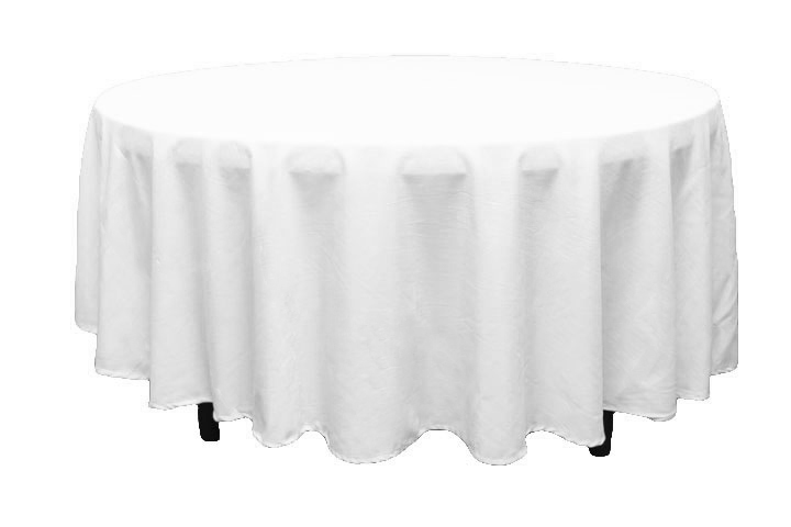 108 Round Linen Tablelcoth