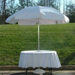 Banquet Chair Covers Rent Posture With Back White Umbrella 48