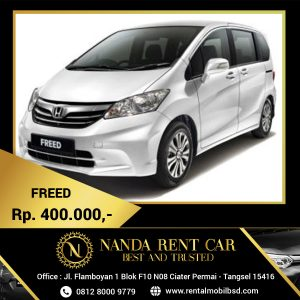 Rental Honda Freed BSD
