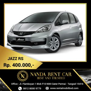 Rental Honda Jazz BSD