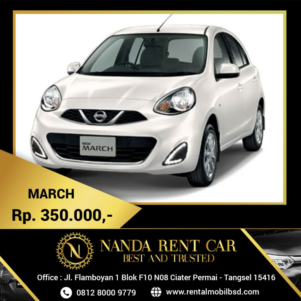 Rental Nissan March BSD