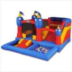 small combo bounce house