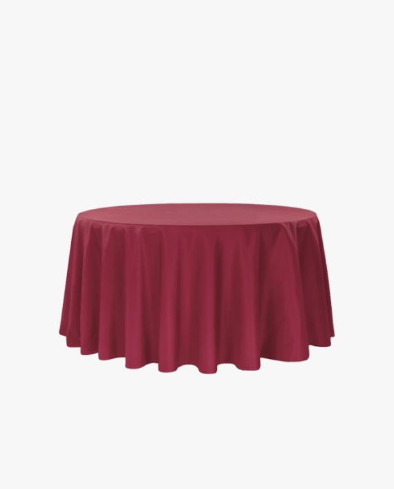 Burgundy Tablecloth Rental