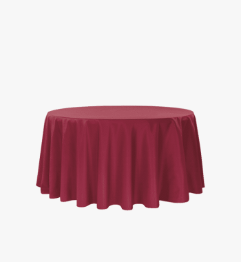 Burgundy Tablecloth Rental