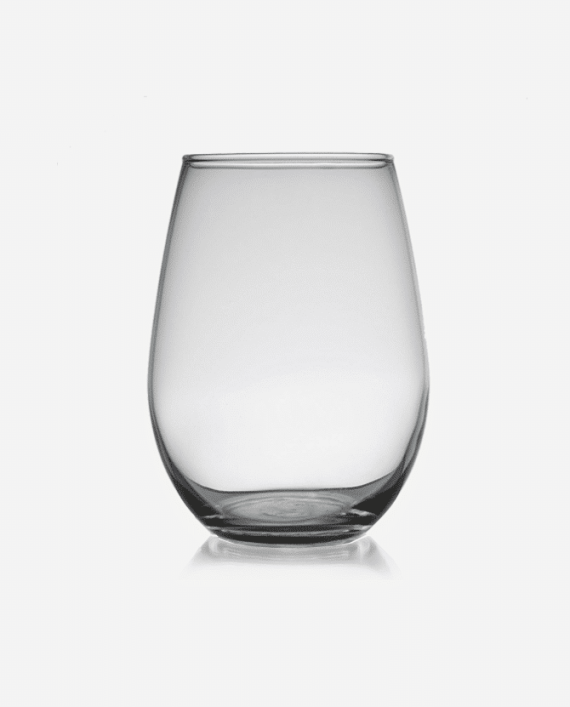 Commercial 12 oz. stemless white wine glass Rentals Atlanta Luxe Event Rental