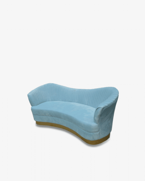 Azure Mist Sofa Rental Baby SHower and Special Event Rental Party Rental Chairs