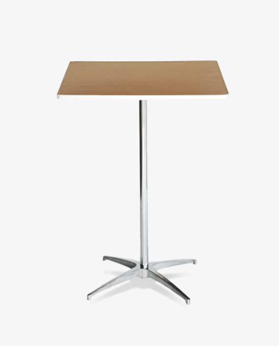 """30"""" Square Highboy Cocktail Table"""