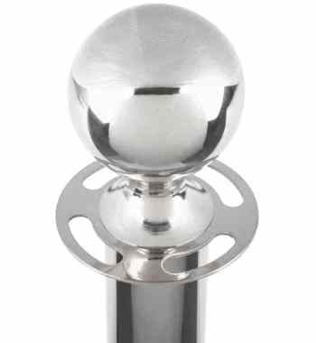 Rentalry of Atlanta Stanchion Pole in Silver