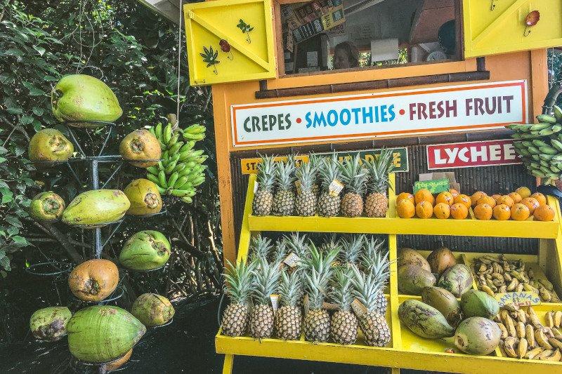Hawaii Food Fresh Fruits