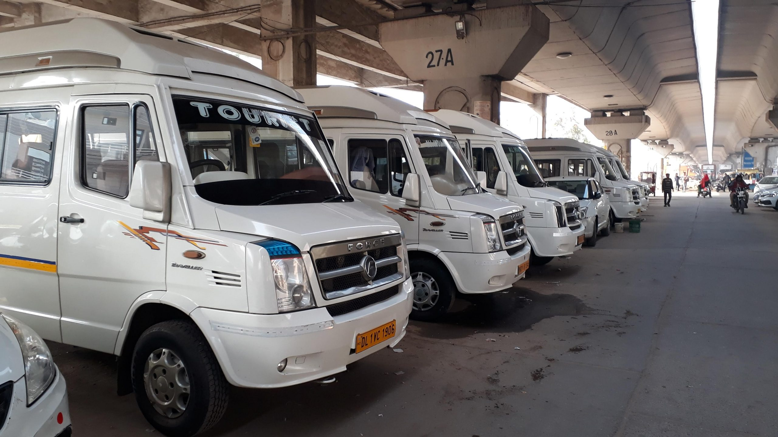 Tempo Traveller Rental for a Long Trip