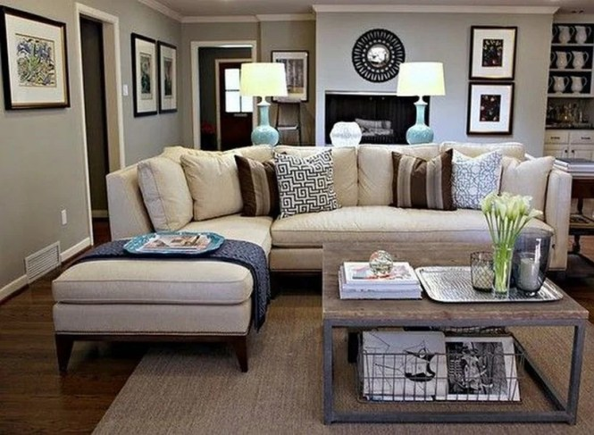 Apartment Living Room Decor On Budget Ideas 50