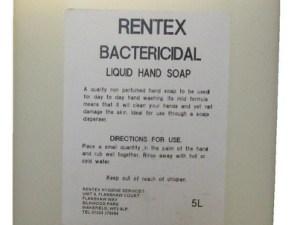 Liquid Hand Soap Antibacterial 5 Litre