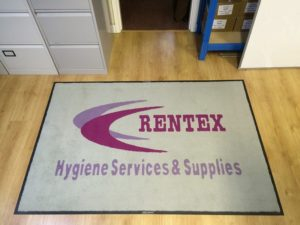 office logo mat cleaning services