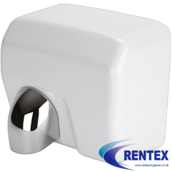 H1 Ultradry Pro Turbo Hand Dryer White