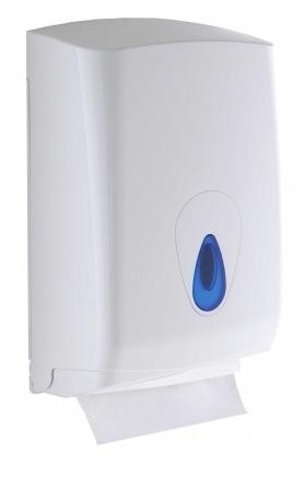 Modular Hand Towel Dispenser Blue