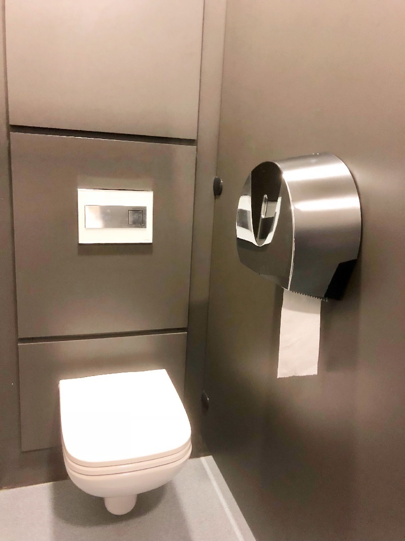 toilet roll dispenser chrome