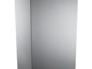Brushed Stainless Steel 50Ltr Waste Bin With Lid
