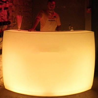 Glowing bar rental