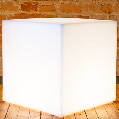 LED side tables for rent