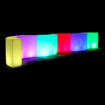Glowing Buffet Bar for rent