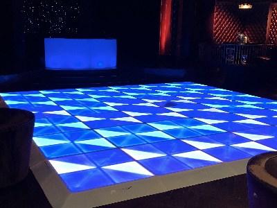 Disco dance floor rental