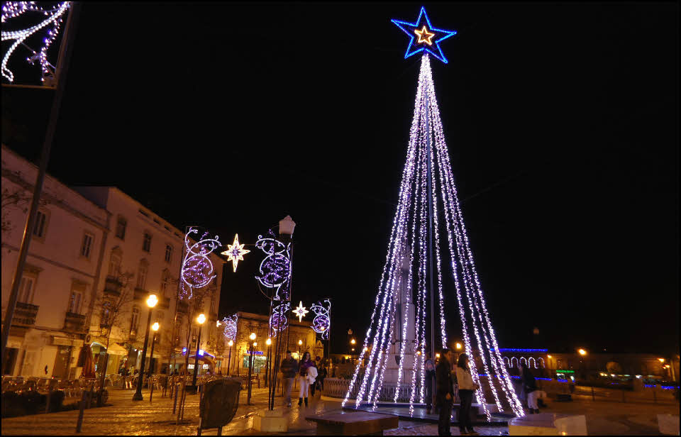 See The Christmas Lights In The Algarve Portugal