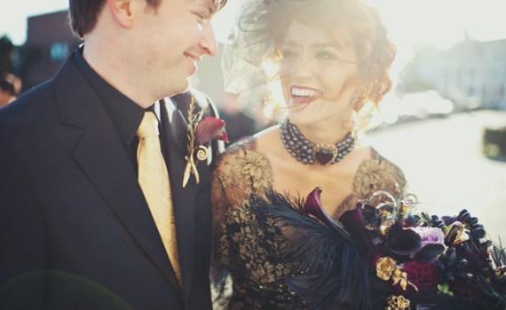 Halloween wedding style ideas