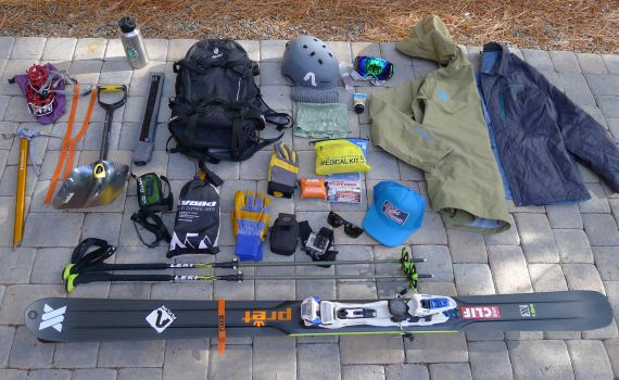 Tips for packing for a backcountry ski trip