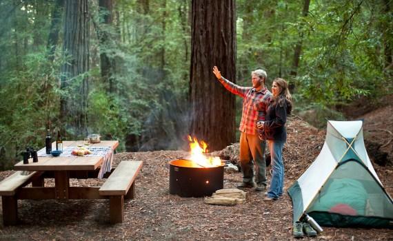 Camping In San Francisco