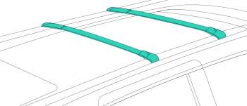 rooftop crossrails; cartop carrier rental