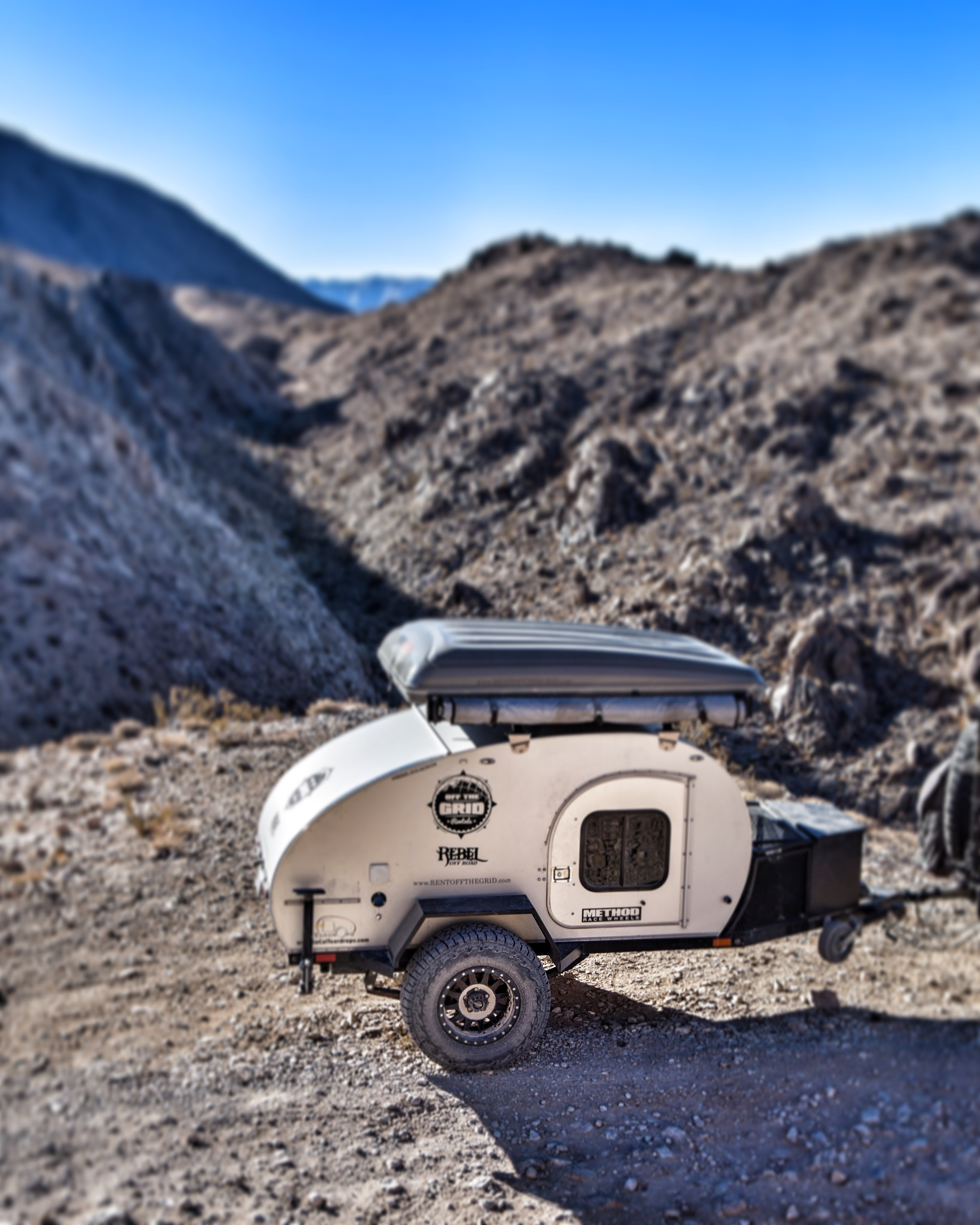 Off Road Teardrop Trailer Gallery  Off The Grid Rentals