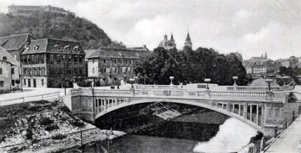 1904 - Franca Jožefa most (danes Zmajski most)