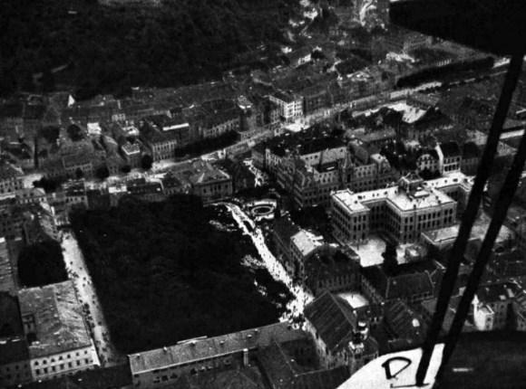 1930 - Kongresni trg z zraka