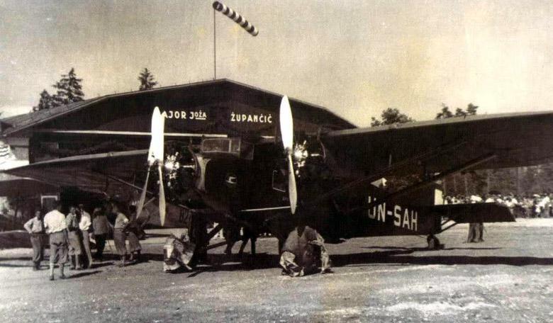 1935 - Letališče Major Joža Zupančič, Polje