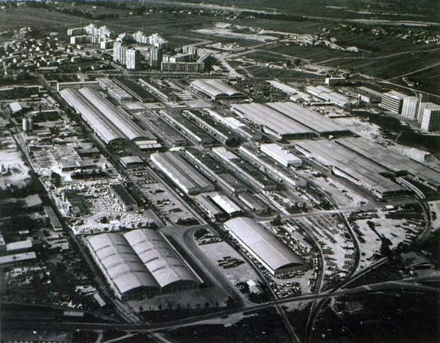 1979 - BTC (Javna skladišča preurejena v trgovski center leta 1975)