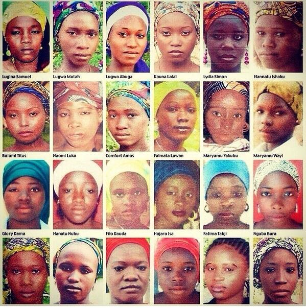 Šolarke, ki jih je ugrabil Boko Haram | Twitter