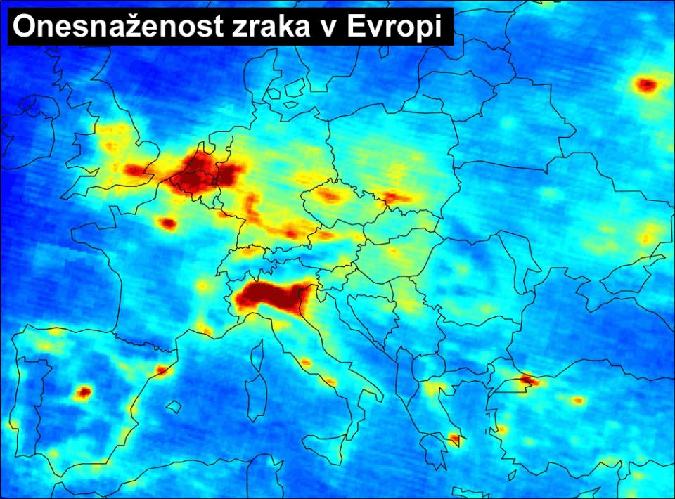 Onesnaženost zraka v Evropi