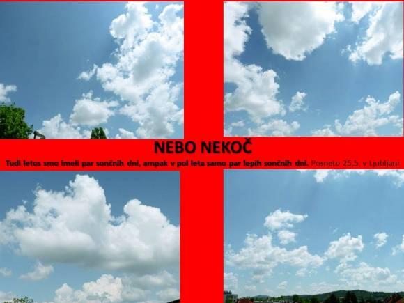 Nebo nekoč | meteor