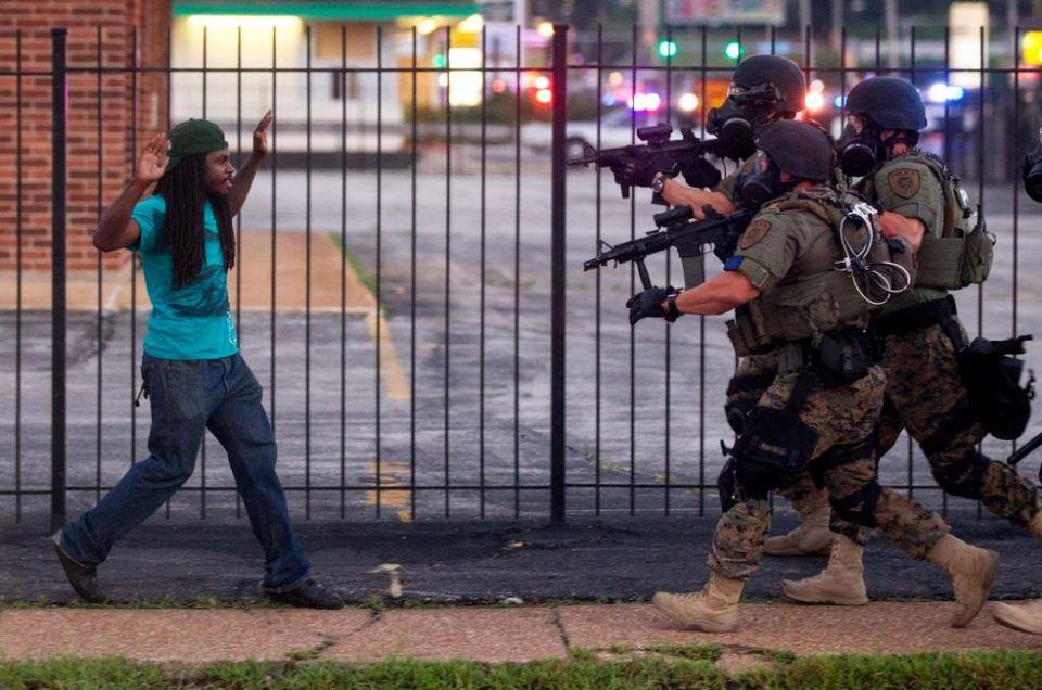 Prizor iz Fergusona avgusta 2014