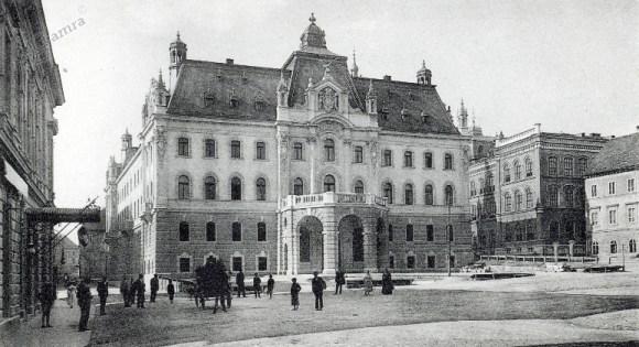 1902 - Kongresni trg in Deželni dvorec