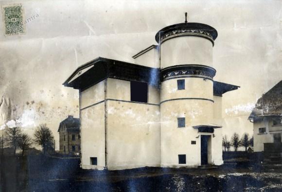 1928 - vila Stadion, ki jo je za društvo Orli projektiral Jože Plečnik