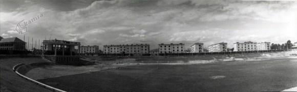 1935 - gradnja Plečnikovega stadiona za Bežigradom