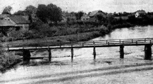 1939 - most čez Ljubljanico pri Zalogu