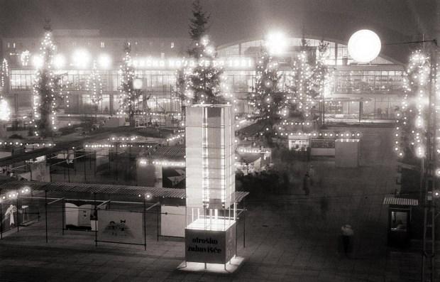 1960 - Dedek Mraz na Gospodarskem razstavišču