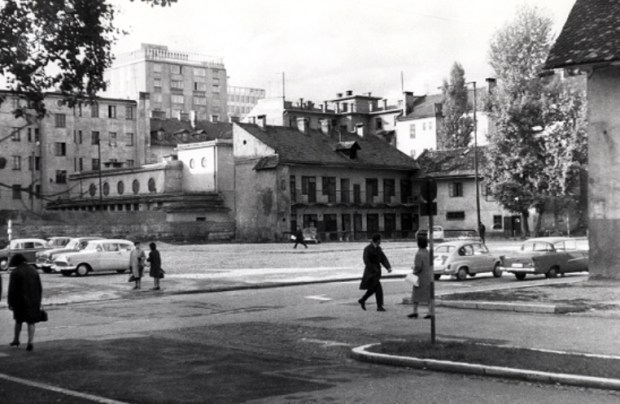 1960 - križišče Kolodvorske in Čufarjeve ulice