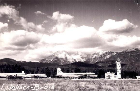 1960s - letališče Brnik