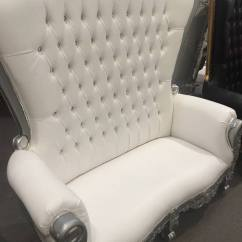 Folding Chair Covers Near Me Wedding Chairs Wholesale Throne Loveseat - Something Borrowed Party Rentals-burlington Graham Elon Mebane Hillsborough ...