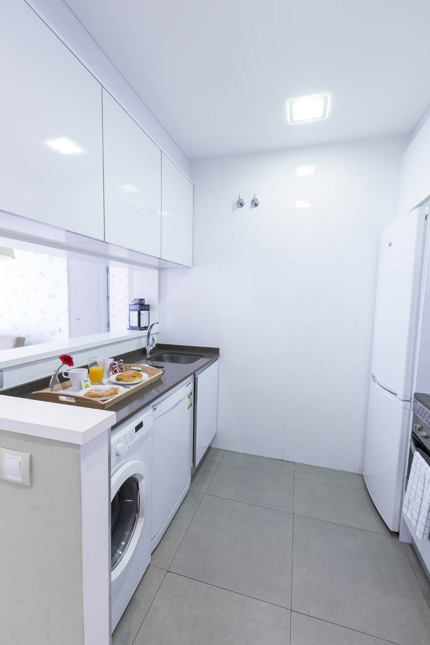 madrid apartment with kitchen