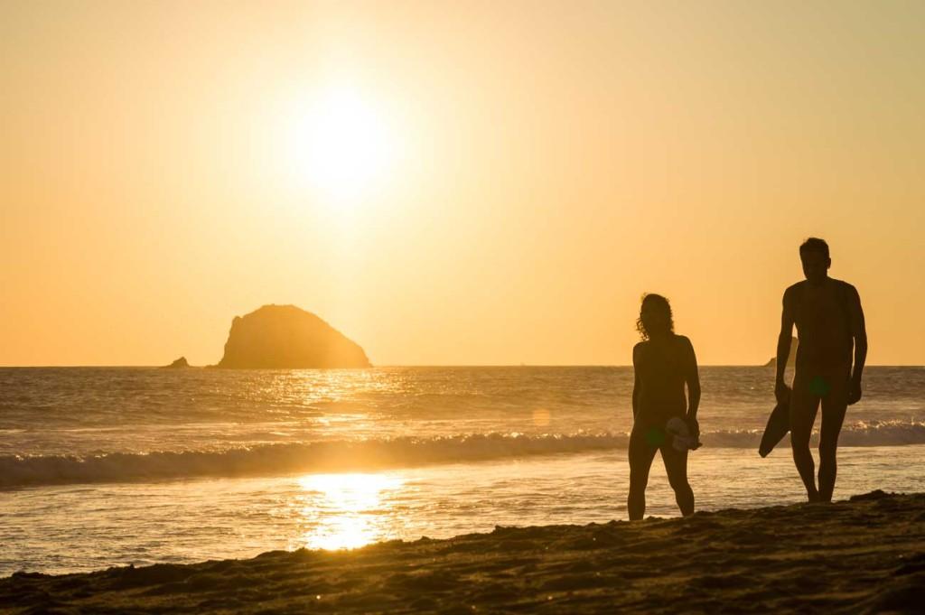 Galera Imgenes de Zipolite la playa nudista ms famosa